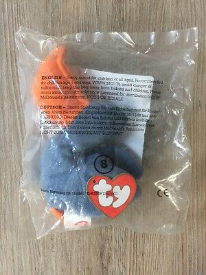 BNIB Collectable BEANIE BABIES | SCOOP THE PELICAN McDonalds Happy Meal Toy 1993