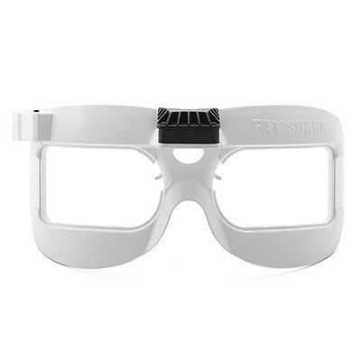 FPV FatShark FAN White Edition Equipped Faceplate For DOMV2/HD