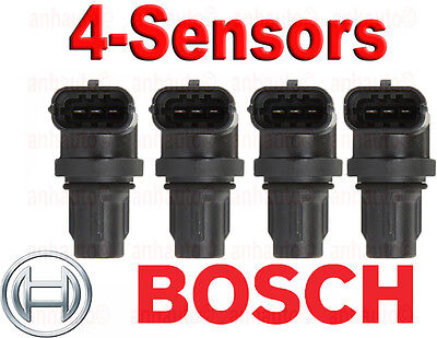 Set of 4 BOSCH Camshaft Position Sensor's Mercedes Benz 272 905 00 43  NEW