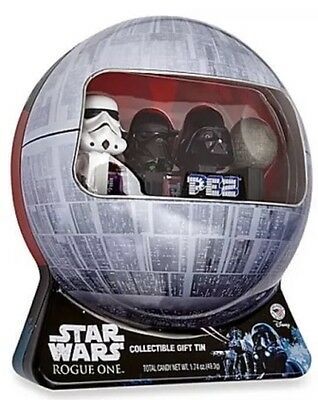 PEZ Star Wars Rogue One Tin Limited Edition Set of 4 Tin Collectible Disney New
