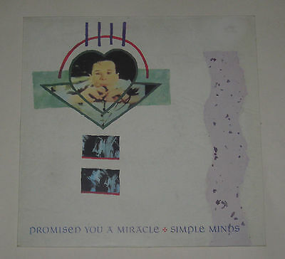 """Simple Minds 12"""" 3 Track Ep Promised You A Miracle Excl+ Vs48812"""