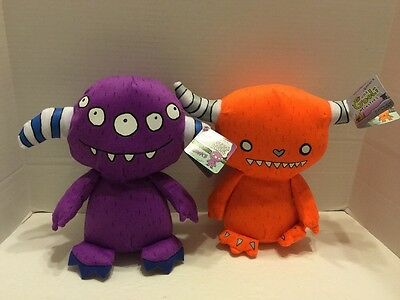 Foolish Monsters Blinks & Qwip Series 1 With Tags Lot Of 2 Plush Toy