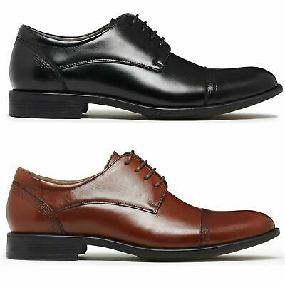 JULIUS MARLOW EXPAND Leather Dress Work Casual Formal Business Shoes Lace Up New