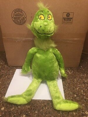 "KOHLS CARES FOR KIDS 20"" Dr. Seuss THE GRINCH Plush Toy"