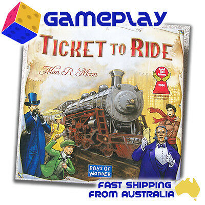 Ticket to Ride  (Game of the Year 2004)