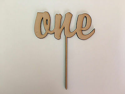 Number ONE | Cake Topper {Brody Font}