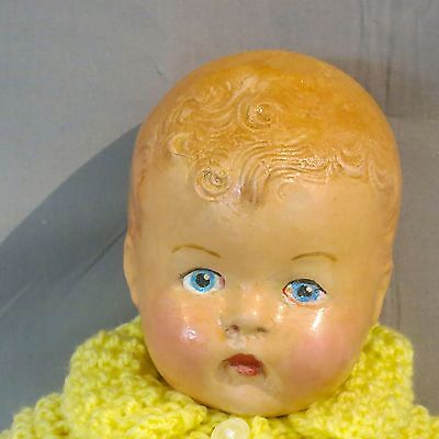 Antique 13 inch BND (British National Doll) Composition Doll