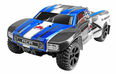 Redcat Blackout SC 1/10 Scale 4x4 Electric Offroad Short Course RC Truck Blue