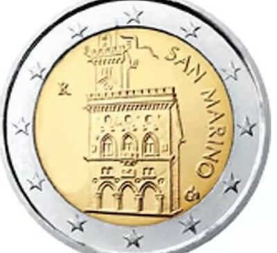 San Marino 2€ 2 Euro Coin 2012 New BUNC From Roll