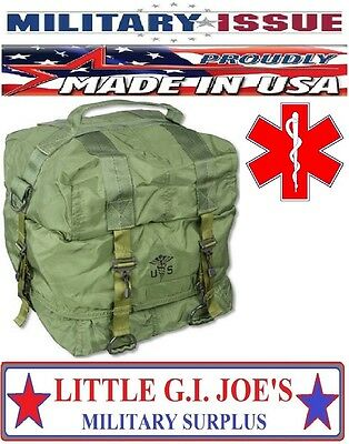Military Issue M17 Medic Bag For Your First Aid Kit, Trifold W/Carry Strap NEW!