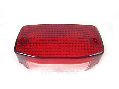 Taillight Tail light Rear lamp lens for 85-87 Honda NB50 Areo NH80