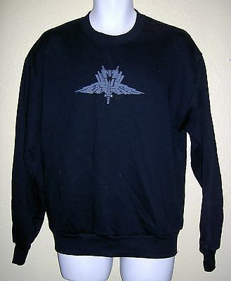 STARSHIP TROOPERS Camp Currie SWEATSHIRT Original Screen Used XLarge SM MED wCOA
