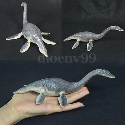 Realistic Plesiosaur Dinosaur Animal Figure Solid Plastic Kids Toy Model 21cm