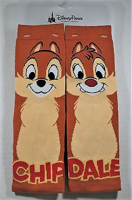 Disney Silly Chip & Dale Sock 1 Pair BRAND NEW CUTE NWT