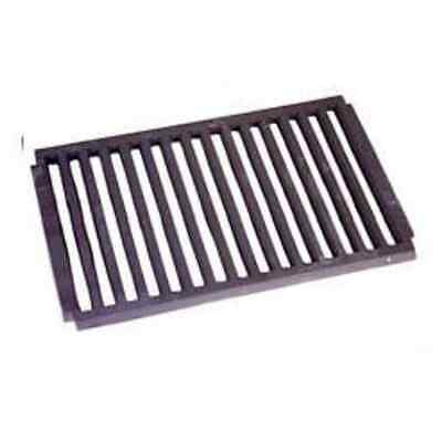 Large Dog Fire / Fireplace Grate Flat, Cast Iron