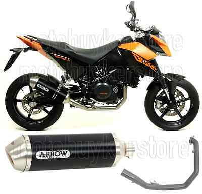 Arrow Full Muffler Exhaust System Racetech Aluminium Black Ktm Duke 690 2010 10