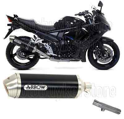 Arrow Kit Muffler Exhaust Racetech Aluminium Black Suzuki Gsx 1250 F 2012 12