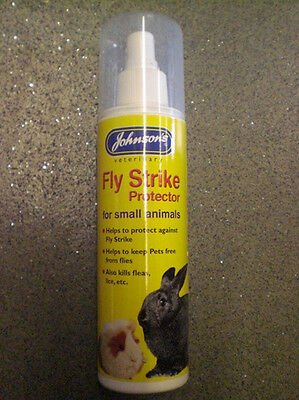 Johnsons Fly Strike Protector for Small Animals Pump Action Spray 150ml