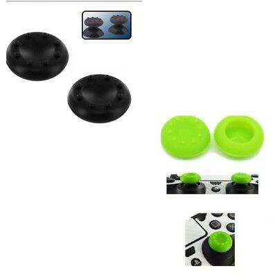 Set Grip 6 Gommini Pallini Stick Analogico Nero O Verde Controller Ps4,,Xbox One