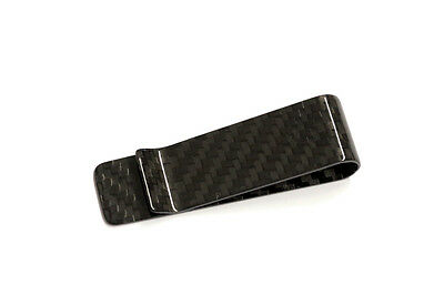 100% Carbon Moneyclip small - Geld klammer - Portmonaie - Money Clip