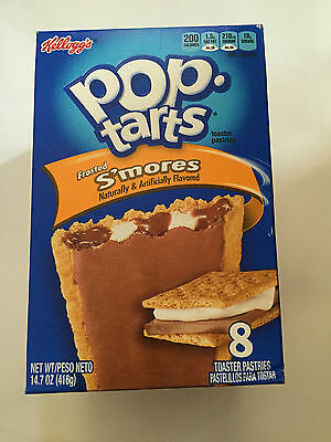 Kelloggs Pop Tarts Frosted S'mores 8 toaster pastries