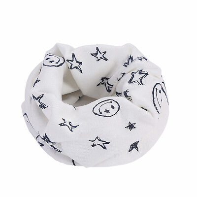 Cute Kids Baby Girls Boy Cotton Scarf Scarves Neckerchief Winter Neck Warmer
