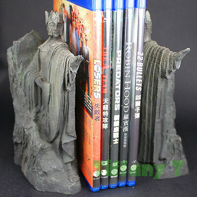 NEW Lord of the Rings Hobbit The Gates of Gondor Argonath Statue Bookends Figure