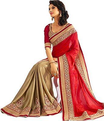 Pakistani Indian Bollywood Ethnic Designer saree Bridal Traditional New sari 229