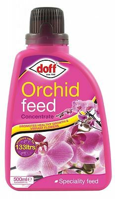 Doff Speciality Orchid Liquid Plant Feed Food Fertiliser Concentrate 500ml