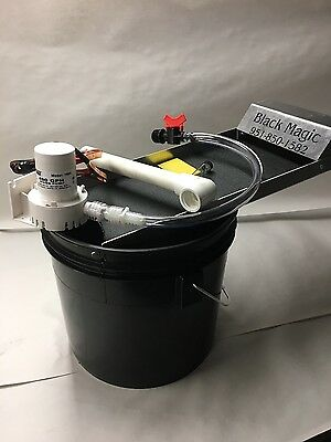 Black Magic Fine Gold Recovery System - Mini Bucket Recirculator Sands- Sluice