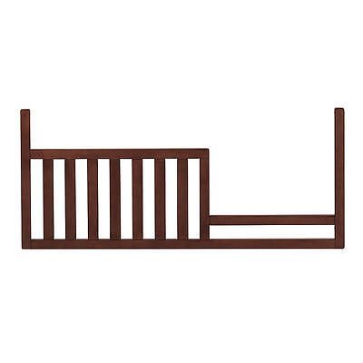 Baby Cache Essentials Sleigh Toddler Guard Rail - Chestnut  [Crib Not Included]