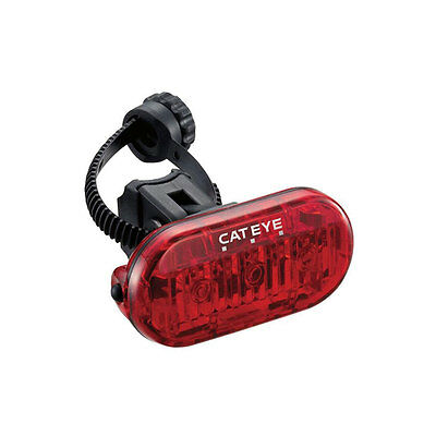 Cateye HL135 Omni 3 LED TL-LD135-R Bicycle Rear Safety Light LED