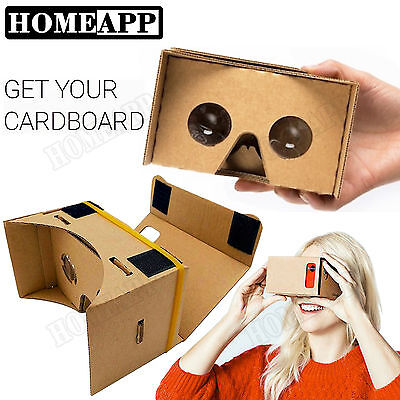 3D Google Cardboard Glasses VR Virtual Reality for iPhone mobile phone