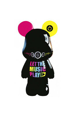 Funky Bear Let the Music Play (30 cm) - Déco Toy Art