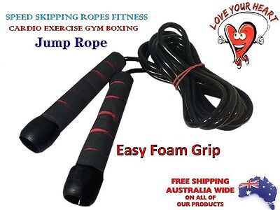 MMA Boxing Speed Cardio Gym Excercise Training Fitness Yoga Jump Ropes,Skip 3mtr