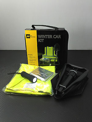 Aa Winter Car Kit Hi Viz Snow Shovel Included Must Have Vehicle Accessory