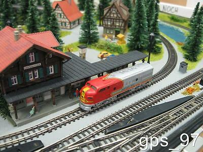 """Z - Marklin 8860 DCC Analog  F7 Loco w/ 7 LED Light Functions """"Watch the Video"""""""