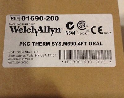 Welch Allyn 01690-200 SureTemp Plus 690 Electronic Thermometer