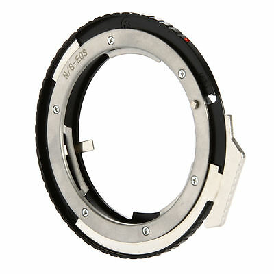Adapter Ring per Nikon G AF-S AI F Lens to Canon EOS EF Mount DSLR Camera DC640