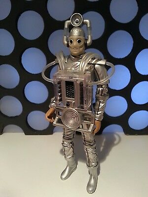 """Doctor Who The Tenth 10Th Planet Cyberman Klang Leader 5"""" Classic Figure New"""
