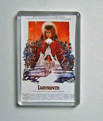 Labyrinth David Bowie The Neverending Story movie poster fridge magnets Keyrings