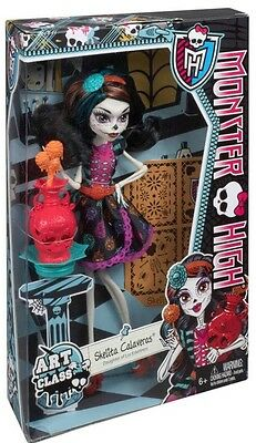 Monster High Dolls Skelita Calaveras Art Class Edition