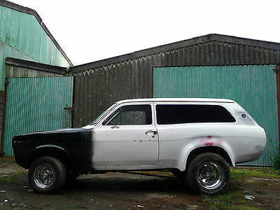 Ford Escort Estate MK2 V8 Hot Rod 1976 TOP GEAR Featured MK1 Project Modified
