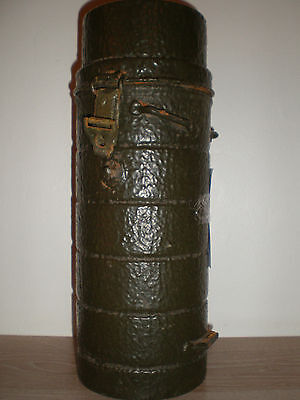 post ww2 german gas mask cannister