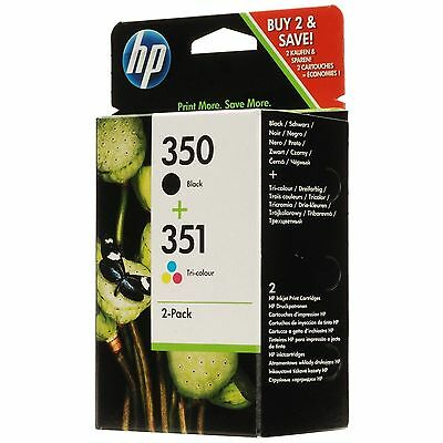 New Original HP 350/351 Black & Colour Combo for HP Photosmart C5200 (SD412EE)