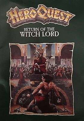 HeroQuest / Hero QuestReturn Of The Witch Lord Expansion Set Complete No Box (B)