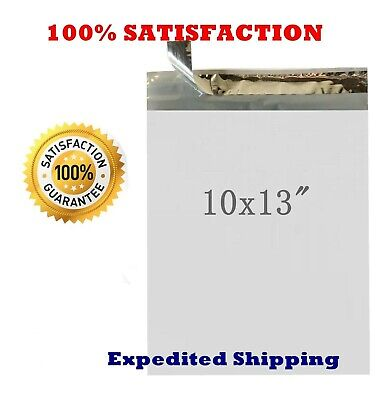"10 x 13 "" Poly Mailers Envelope Plastic Mailing Bags 40 100 200 500 1000 2.35mil"