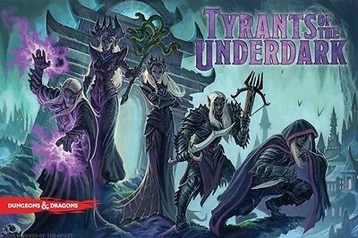 Dungeons And Dragons Board Game: Tyrants Of The Underdark