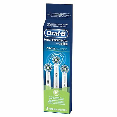 Oral B Cross Action Brush Head Refills-X  2   (6 heads total)