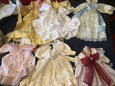 6 dress's for baby's or large dolls